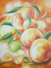 Paintings, Oil on canvas, The peaches
